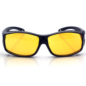 HOT Night Driving Glasses Anti Glaring Night Vision HD Polarized Fit Over Wrap Around Glasses HV99