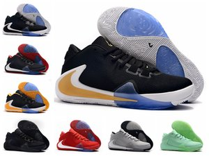Best New Arrival Mens Freak 1 Giannis Antetokounmpo 1s Basketball Shoes For Cheap Athletic Zoom GA1 Luxury Sneakers Fast Shipping Size36-46