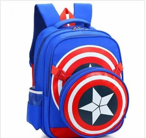 new school backpacks avengers captain america cartoon style schoolbags for kids children shoulder bags mochila infantil