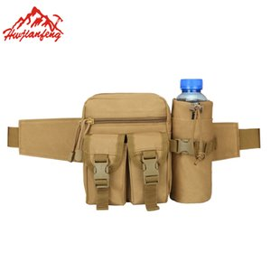 Wholesale Men Molle Pouch Belt Tactical Waist Army Bag Waist Pack Running Pouch Outdoor Travel Camping Bags Soft Back