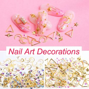 Wholesale Nail art Decorations Charm Gem Beads Steam Punk Parts Clocks Studs Gear D Wheel Metal Manicure Pedicure DIY Mixed
