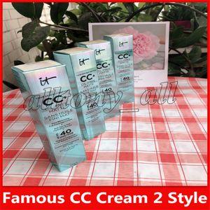 Top Quality CC Cream Foundation Primer New Face Skin Concealer Cream Illumination 2 Colors Light Medium Free Shipping