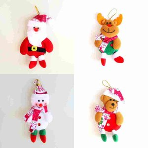 Wholesale chrismas decoration tree for sale - Group buy Cute christmas decorations Santa Claus snowman Elk bear arbol de navidad Chrismas tree Hanging Ornament Gift Christmas Decoration Supplies