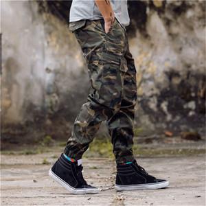 2e112bd687e6 New Arrival Mens Pants Fashion Camouflage Jogging Pants Womens Zipper  Overalls Beam Foot Trousers Irregular Joggers Pants