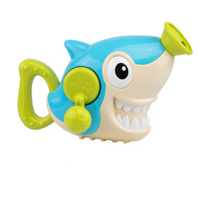 Wholesale Bath Toys Shark Crocodile Hand Pumping Water Toys Children Bathroom Bathing Boys and Girls Playing Water Shower Water Toys SH190912