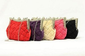 Hot Design Day Clutch Bags Women Chain Shoulder Bags Ladies Weave Evening Bag Party Handbags Purses on Sale