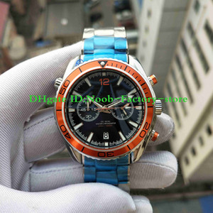 Factory Photographs 600M Watch Co-Axial Planet Ocean 232.30.46.51.01.002 VK Quartz Chronograph Working Steel Wristwatches Mens Watches