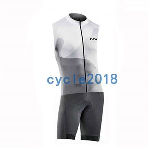 Wholesale Factory Direct Sales NW Summer Sleeveless Cycling Jersey Skinsuit Set Breathable MTB Bicycle Cycling Clothing Racing Bike Clothes