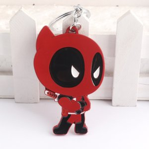 Wholesale Hip Hop Keychain Cartoon Image Key Buckle Keyring Cross border Accessories New Products For Kids Small Jewelry