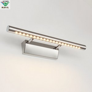 bathroom mirror lighting Warm white White Wall Lamps 5050 SMD LED 7w High quality mirror-front lighting stainless steel L0274