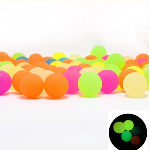 Luminous Bouncy Ball Pellets Ammo Multicolor for Shooting and Targeting Games Observing Trajectory Clearly at Night on Sale