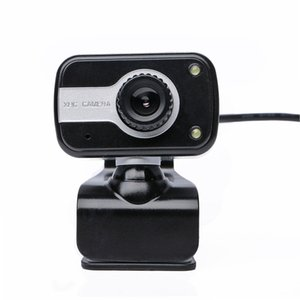 Wholesale Digital USB M Mega Pixel Webcam Stylish Rotate Camera HD Web Cam With Mic Microphone Clip for PC Laptop Notebook Computer LR2