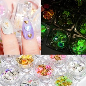 Wholesale diamond rhinestone gems for sale - Group buy CYSHMILY box set D Colorful shiny Crystal Diamond gem Nail Ornament jewelry Nail Rhinestone For manicure