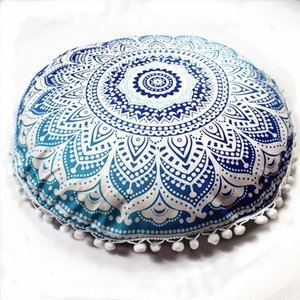 ingrosso cuscini bohemian getta-2019 Indian Mandala Pillows Round Bohemian Home Cushion Pillowsham Cushion Pillowsham Throw Pillows Home Decor pillow