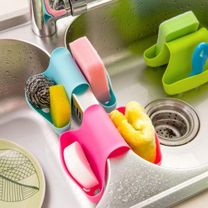 High-quality Double Sink Caddy Saddle Style Kitchen Organizer Storage Sponge Holder Rack Tool Featured