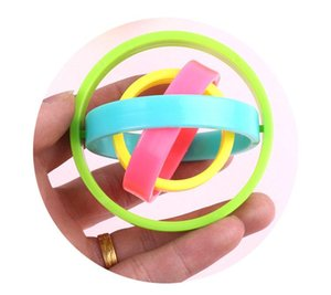 Wholesale DHL Creative rotation kids toys Factory direct sales of new plastic fingertips gyro decompression toy magic finger gyro spiral toys