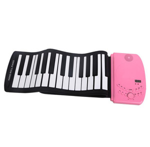 Wholesale 61 key thickened hand roll piano key folding piano portable hand roll charging