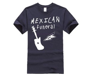 Wholesale 100 Cotton O neck Printed T shirt Dirk Gently Mexican Funeral Band Design T Shirt