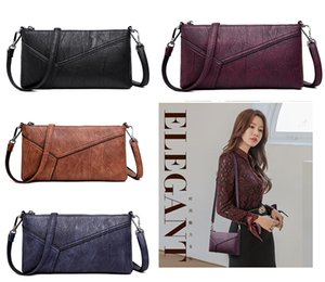 Wholesale New Popular Women Fashion Real Genuine Leather Shoulder Bags Girls Lady Like The Envelope Type Cross Body Mini Handbags Purse Crossbody Bag