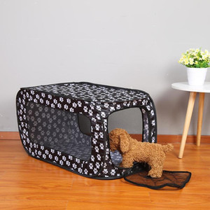 Portable Folding Rectangular Pet Tent Dog Cage Playpen Fence Puppy Kennel Dog House Outdoor Removable Mesh Cat Tent on Sale