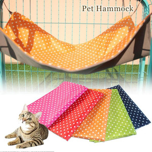 Wholesale Dots Pet Products Cat House Pet Sleeping Bag Oxford Cloth Cat Hammock Bed Sleeping Bag Products Supplies S2