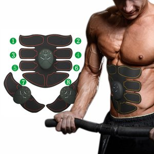 Machine TENS Electronic Abdominal Fitness Accessories Smart EMS Muscle Trainer Wireless Stimulator Massager Body Slimming Shaper #341532
