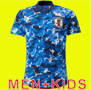 Wholesale MEN KIDS JAPAN NEW home football shirt traditional blue soccer jerseys OKAZAKI KAGAWA HONDA KASEBE maillots de foot