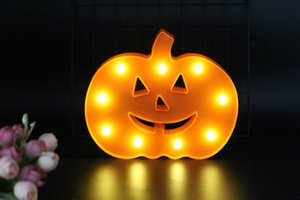 Wholesale unique Christmas Gifts D night light pumpkin desk table lamp atmosphere lighting decoration for home bar cafe boy baby toy