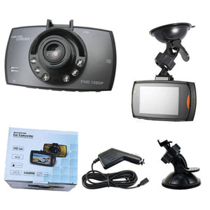 "Car Camera G30 2.2"" Full 1080P Car DVR Video Recorder Dash Cam 120 Degree Wide Angle Motion Detection Night G-Sensor WithRetailBOX"