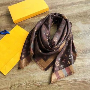 Luxury Cashmere Scarf for Women New Brand Colorful thread scarves Scarfs 140*140cm Scarves Pashmina Infinity Scarf Women Shawls