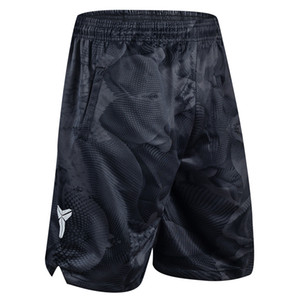 Men Shorts Basketball Pants Sports Shorts Black Mamba Camouflage KD Polyester Knee Length Breathable Quick-drying Training Active M-3XL