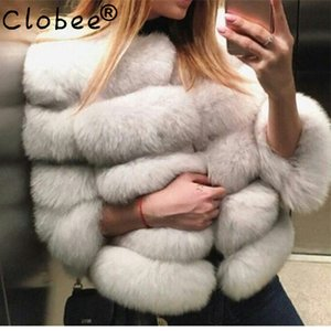 Wholesale 2019 Winter Hot winter coat imported fox fur fur short jacket coat the whole leather imitation
