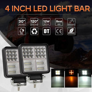 Wholesale 162W inch Offroad LED Work Light Bar Spot Flood Combo Beam Driving Fog Lamp Quality Stability of Die Casting Aluminum Alloy