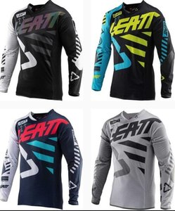 LEATT new summer downhill clothing men's custom-made Jersey long-sleeved mountain bike off-road motorcycle