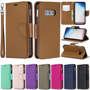 Wholesale Flip Case For Samsung Galaxy A10 A20 A30 A40 A50 A70 PU Leather Wallet Cover For Coque Samsung M1O M20 M30 Case