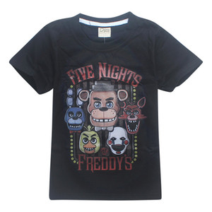 Wholesale fnaf 2 for sale - Group buy FNAF Kids Tee shirts Five Nights At Freddy Colors t Boys Cotton T shirts kids clothes JSS214