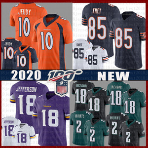 10 Denver Jerry Jeudy Broncos Chicago 85 Cole Kmet Bear Jersey Philadelphia 2 Jalen Reagor Hurts Eagles Minnesota Justin Jefferson Vikings