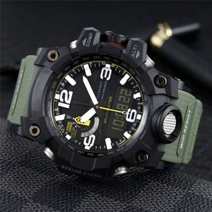 Wholesale High Quality Mens Sport Watch Mudmaster Quartz Battery Digital Display Waterproof All Function Light GWG Male Clock