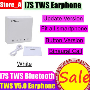 i7s TWS Earbuds Bluetooth v5.0 In-Ear Stereo Wireless Bluetooth Earphone with Mic For iPhone Xs Smartphone Wireless Headphones