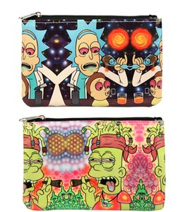 Wholesale Soft PU Leather Bag Cartoon handbag Portable Storage bag with zipper Tobacco Smoking Pipe Case Pouch Smoking Tools Accessories