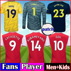 Wholesale Fans Player Arsen Soccer Jersey Third royal blue TIERNEY football Kit HENRY away yellow Kit men kids Kit sets uniforms
