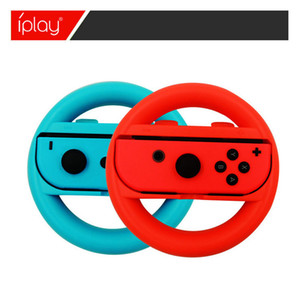 2pcs Steering Wheel Controllers ABS Material Game Switch Controller Joy-con Handle for Nintendo Wheel Steering Wheel