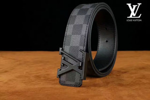 Wholesale Brand Men betl Famous realy Leather Belt Smooth Buckle Women And Men High Quality Genuine Leather Designer Belts For Men