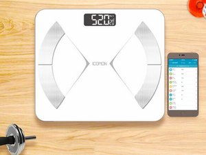 Wholesale New smart Bluetooth body fat scale electronic scale portable home health body scale fat