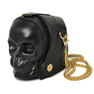 Wholesale New Fashion Gothic Skull Retro Rock bag Women Shoulder Bags Phone Case Holder Purses and Handbags Crossbody Bag
