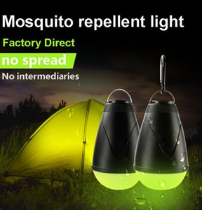 Wholesale Cross border explosion outdoor waterproof LED camping light Portable mosquito repellent fishing light remote control tent night lights