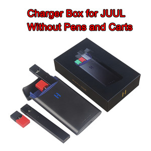 Wholesale New Arrival storage box Vape Pen Charger Charging Case Power Bank mAh charger box for JUUL Closed Pod System Device