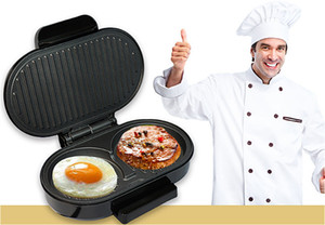 Wholesale 2019 new arrival european multifunctional hamburger maker high power steak machine egg omelet barbecue machine kitchen tool supplier