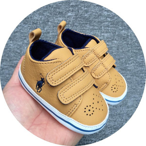 Wholesale 2019 Casual Baby Shoes Soft Sole PU Leather Newborn Boys Girls First Walker Shoes Infant Shoes
