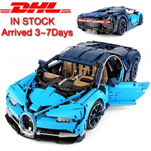 Wholesale 20086 Technic Car Series Supercar Bugattis Model Building Blocks Bricks Sets Kids Toys Compatible With New Assembly Gifts MX190731